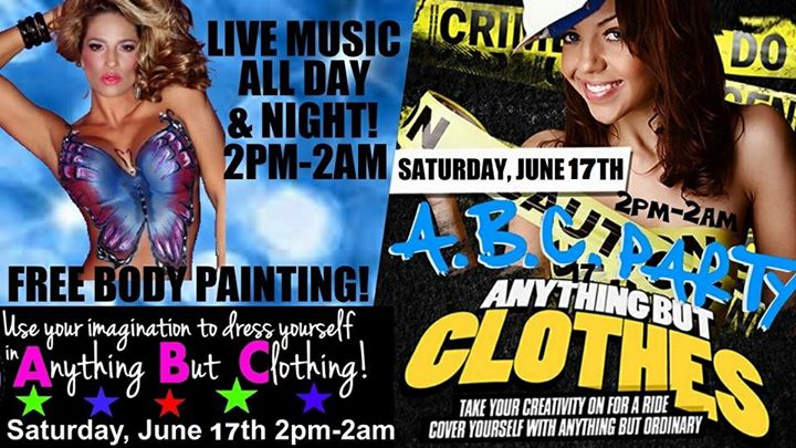 anything but clothes party at the dek in cape coral the dek bar