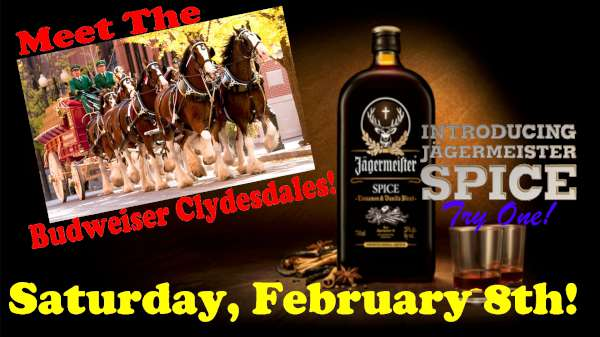 jager spice clydesdales bike night february for tv-600